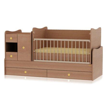 Bertoni - krevet bed mini max 190/72 cherry