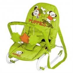 Bertoni - lezaljka top relax green orange puppies 2014