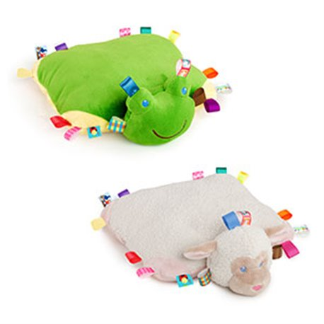 Kids jastuk zaba/jagnje 25096