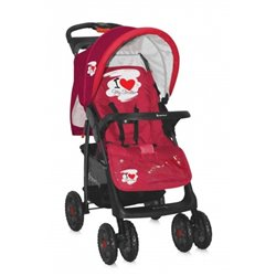 Bertoni – Kolica foxy I love red