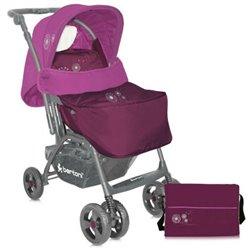 Bertoni - kolica za bebe combi pink dandelion+ torba