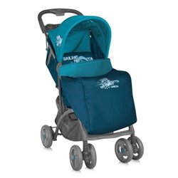 Bertoni - kolica za bebe smarty+footcover blue captain