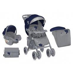 Bertoni - kolica za bebe rio set blue grey