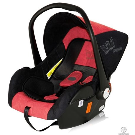 Bertoni - autosediste lifesaver black red