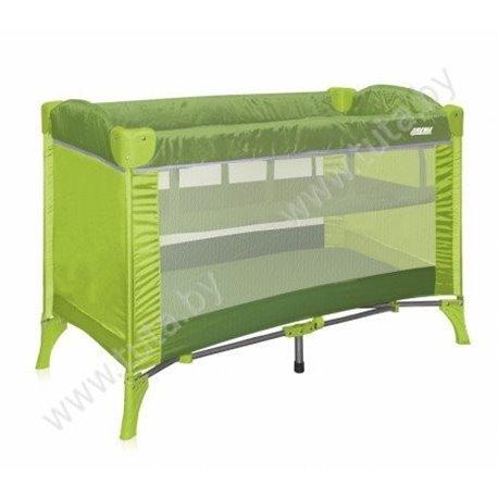 Bertoni -  Prenosivi krevetac arena 1 green hippo