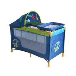 Bertoni - Prenosivi krevetac nanny 2n plus dinos blue