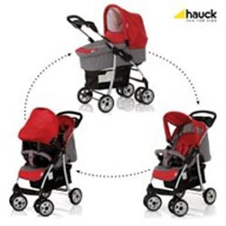Hauck trio sistem (kolica+nosiljka+auto sedište) Shopper smoke tango