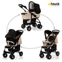 Hauck kolica Shopper trio sistem almond caviar - bež crni