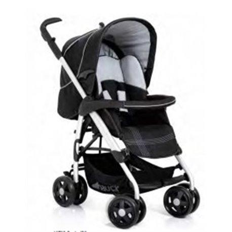 Hauck kolica za bebe Condor caviar silver - sivo crna