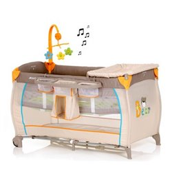 Hauck prenosivi krevetac Baby centar - bear