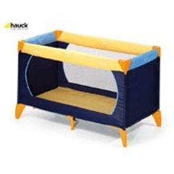 Hauck prenosivi krevetac Dream n play - yellow/blue/navy