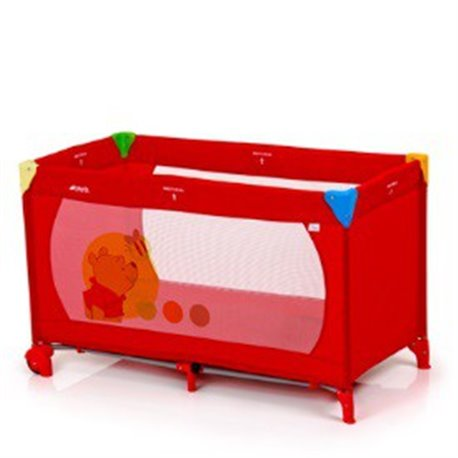 Hauck prenosivi krevetac Dream n play Go V Pooh za bebe 0+ crveni