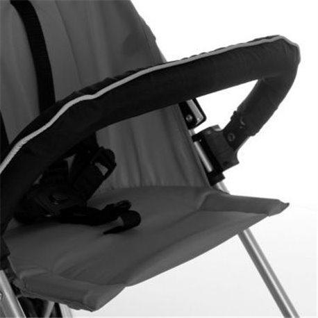 Hauck prednja prečka za kolica crna