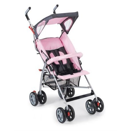 Plebani kolica za bebe Poni go roze