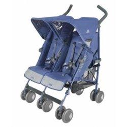 Maclaren kolica za blizance Twin techno - blue
