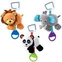 Kids plisana igracka sa muzikom panda-zaba -lav 90539