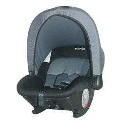 Nania auto sedište Baby ride 0+ (0-13kg) black/gray
